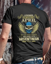 LEGENDS ARGENTINIAN - 04 Classic T-Shirt lifestyle-mens-crewneck-back-2