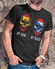 My Home Spain- Puerto Rico Classic T-Shirt lifestyle-mens-crewneck-front-4