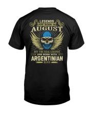 LEGENDS ARGENTINIAN - 08 Classic T-Shirt back
