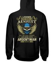 LEGENDS ARGENTINIAN - 08 Hooded Sweatshirt thumbnail