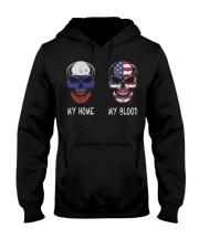 My Home Russia- America Hooded Sweatshirt thumbnail