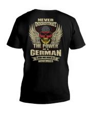 THE POWER GERMAN - 011 V-Neck T-Shirt thumbnail