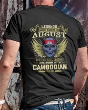 LEGENDS CAMBODIAN - 08 Classic T-Shirt lifestyle-mens-crewneck-back-2
