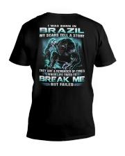 I-WAS-BORN-IN V-Neck T-Shirt thumbnail