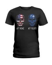 My Blood South Carolina Ladies T-Shirt thumbnail