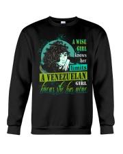 A-WISE-GIRL Crewneck Sweatshirt thumbnail