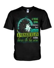 A-WISE-GIRL V-Neck T-Shirt thumbnail
