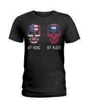 My Blood Wyoming Ladies T-Shirt thumbnail