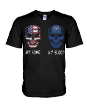 My Blood Nevada V-Neck T-Shirt thumbnail