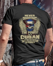 THE POWER CUBAN - 012 Classic T-Shirt lifestyle-mens-crewneck-back-2