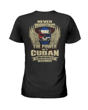 THE POWER CUBAN - 012 Ladies T-Shirt thumbnail