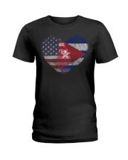 MY HEART Cuba Ladies T-Shirt thumbnail