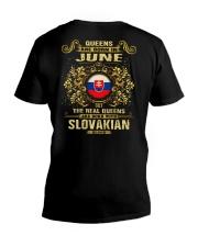 QUEENS SLOVAKIAN - 06 V-Neck T-Shirt thumbnail