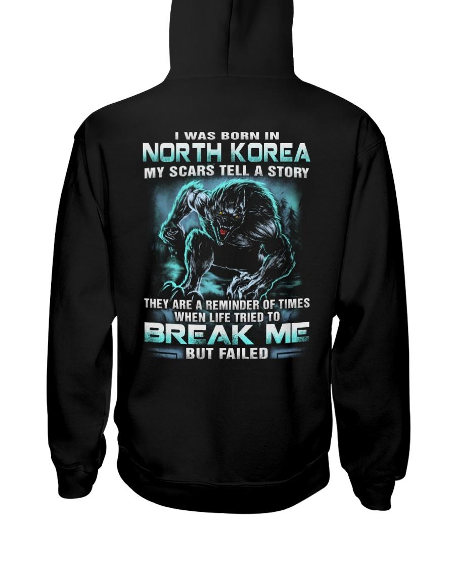 I-WAS-BORN-IN Hooded Sweatshirt