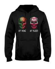 My home Portugal- Poland Hooded Sweatshirt tile