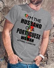 HUSBAND - PORTUGUESE Classic T-Shirt lifestyle-mens-crewneck-front-4