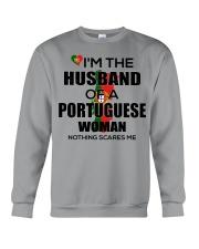 HUSBAND - PORTUGUESE Crewneck Sweatshirt thumbnail