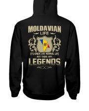 LIFE-LEGENDS Hooded Sweatshirt back