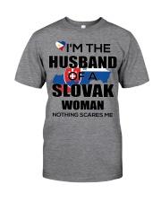 HUSBAND -SLOVAK Classic T-Shirt front