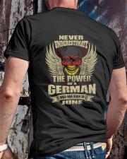 THE POWER GERMAN - 06 Classic T-Shirt lifestyle-mens-crewneck-back-2