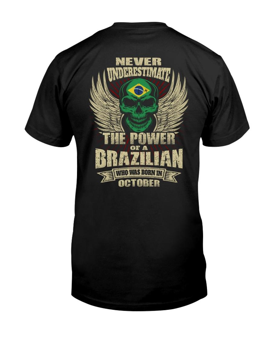 THE POWER BRAZILIAN - 010 Classic T-Shirt