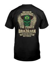 THE POWER BRAZILIAN - 010 Classic T-Shirt back
