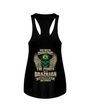 THE POWER BRAZILIAN - 010 Ladies Flowy Tank thumbnail