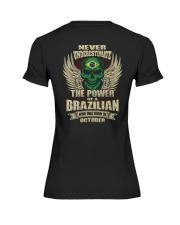 THE POWER BRAZILIAN - 010 Premium Fit Ladies Tee thumbnail