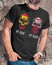 My Home Spain- Poland Classic T-Shirt lifestyle-mens-crewneck-front-4
