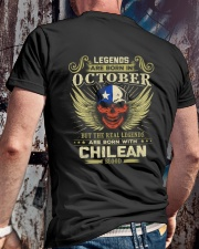 LEGENDS CHILEAN - 010 Classic T-Shirt lifestyle-mens-crewneck-back-2