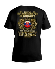 QUEENS THE SLOVAKS - 02 V-Neck T-Shirt tile