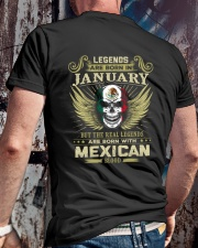 LEGENDS MEXICAN - 01 Classic T-Shirt lifestyle-mens-crewneck-back-2