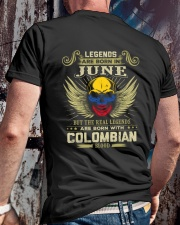 LEGENDS COLOMBIAN - 06 Classic T-Shirt lifestyle-mens-crewneck-back-2