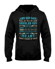 AND-GOD-SAID Hooded Sweatshirt front