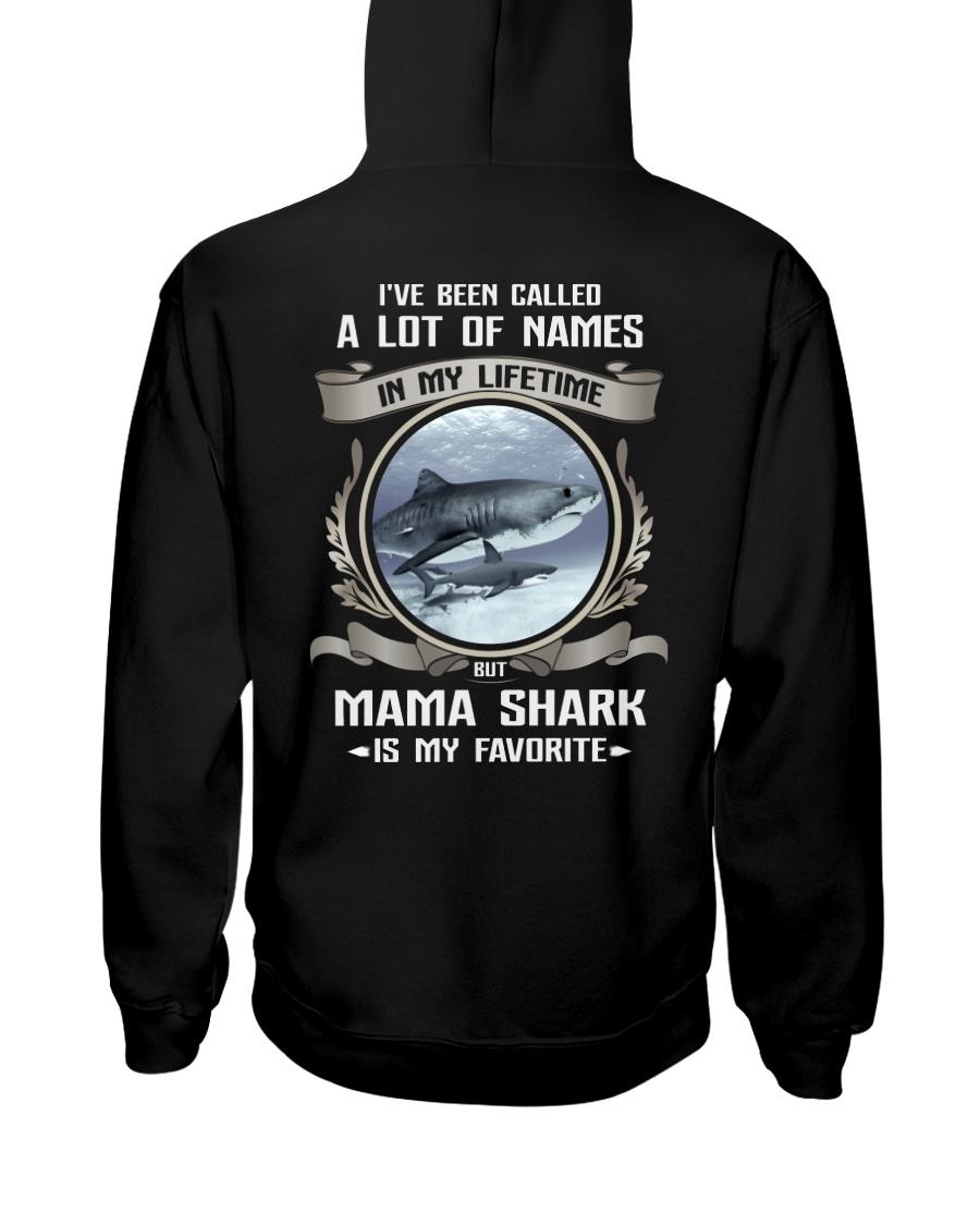 mama shark Hooded Sweatshirt