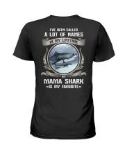 mama shark Ladies T-Shirt thumbnail