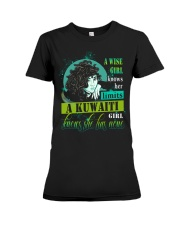 A-WISE-GIRL Premium Fit Ladies Tee thumbnail