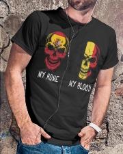 My Home Spain- Belgium Classic T-Shirt lifestyle-mens-crewneck-front-4