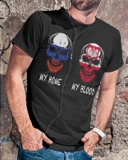 My Home Russia-Poland Classic T-Shirt lifestyle-mens-crewneck-front-4