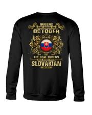 QUEENS SLOVAKIAN - 010 Crewneck Sweatshirt thumbnail