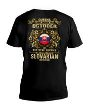 QUEENS SLOVAKIAN - 010 V-Neck T-Shirt thumbnail