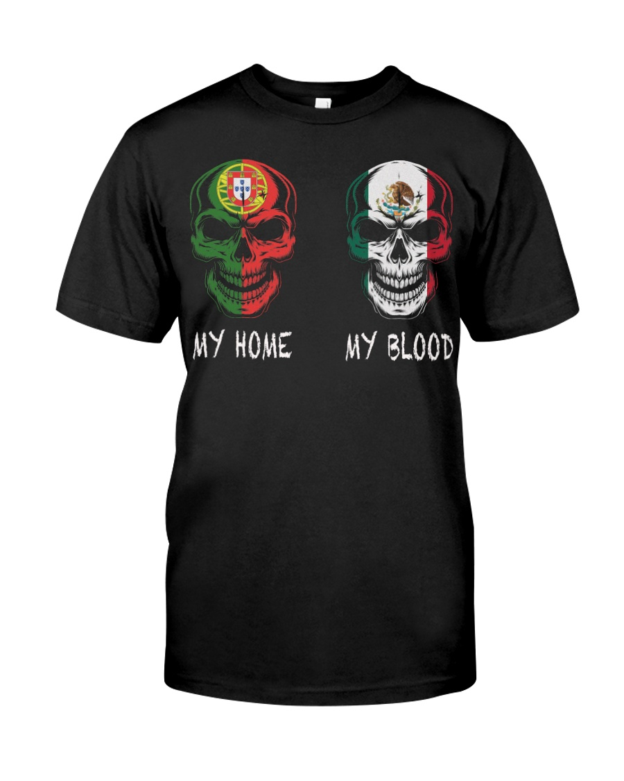 My home Portugal- Mexico Classic T-Shirt