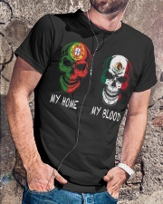 My home Portugal- Mexico Classic T-Shirt lifestyle-mens-crewneck-front-4