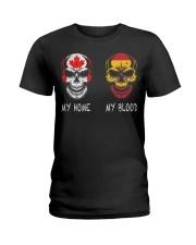 Blood - Spain Ladies T-Shirt thumbnail