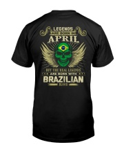 LEGENDS BRAZILIAN - 04 Classic T-Shirt back