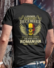 LEGENDS ROMANIAN - 012 Classic T-Shirt lifestyle-mens-crewneck-back-2