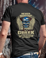 THE POWER GREEK - 010 Classic T-Shirt lifestyle-mens-crewneck-back-2