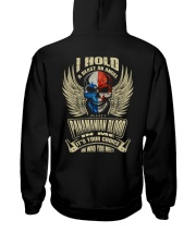 I-HOLD Hooded Sweatshirt back