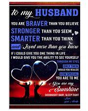 TO MY HUSBAND 11x17 Poster thumbnail