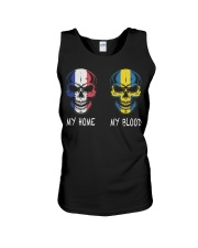 My Home France- Sweden Unisex Tank thumbnail